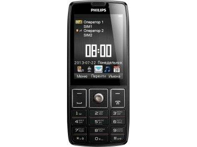 Филипс Xenium 5500 имеет весьма демократическую цену