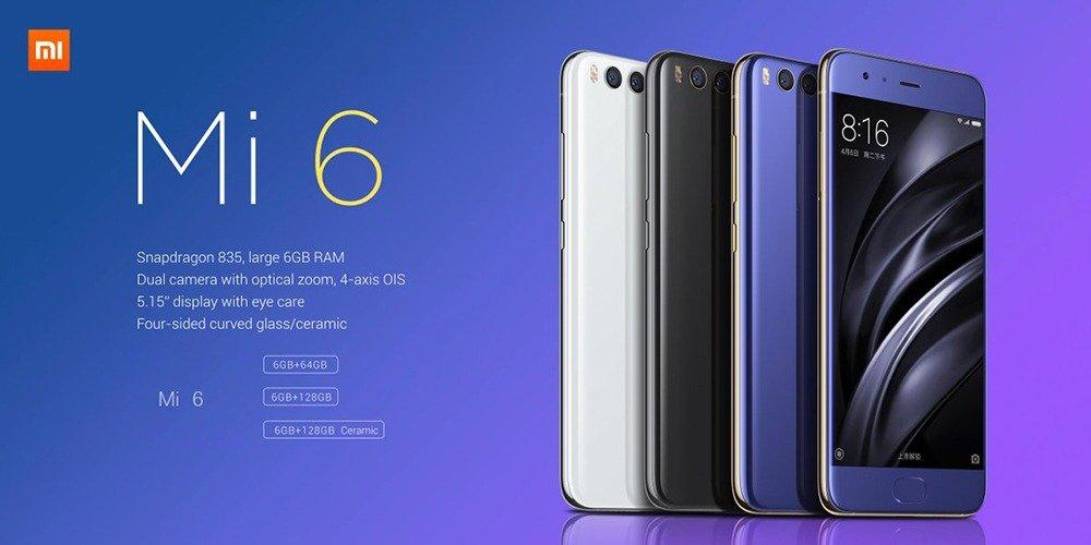 Xiaomi Mi 6 обзор цена характеристики