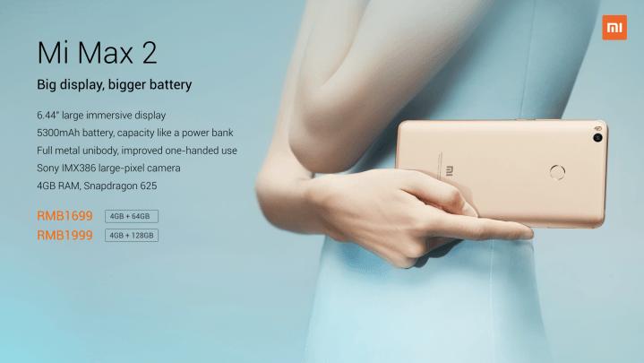 Xiaomi Mi Max 2 128Gb