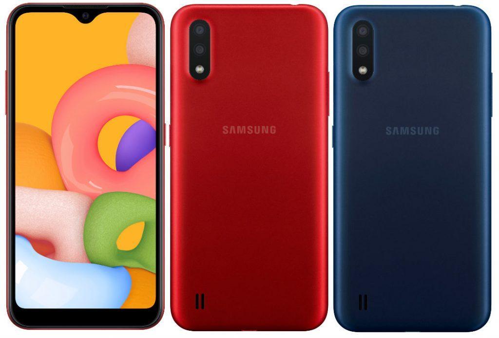 Samsung Galaxy A01: