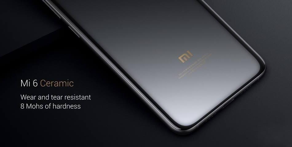 Xiaomi Mi6 128GB Ceramic Special Edition Black