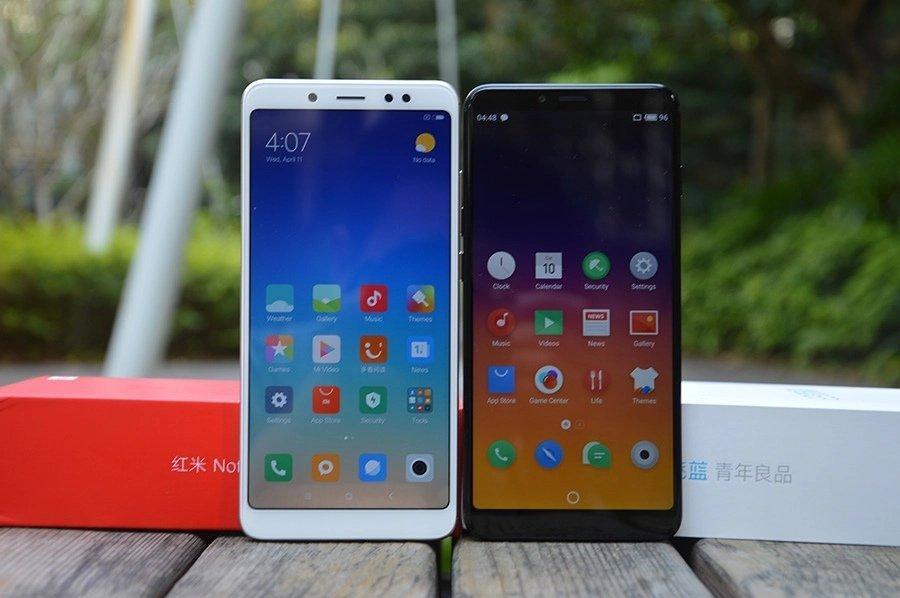 В сравнении с Redmi Note 5