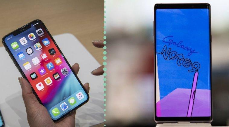 Samsung Galaxy Note 9 поддерживает стилус из коробки, тогда как Айфон нет