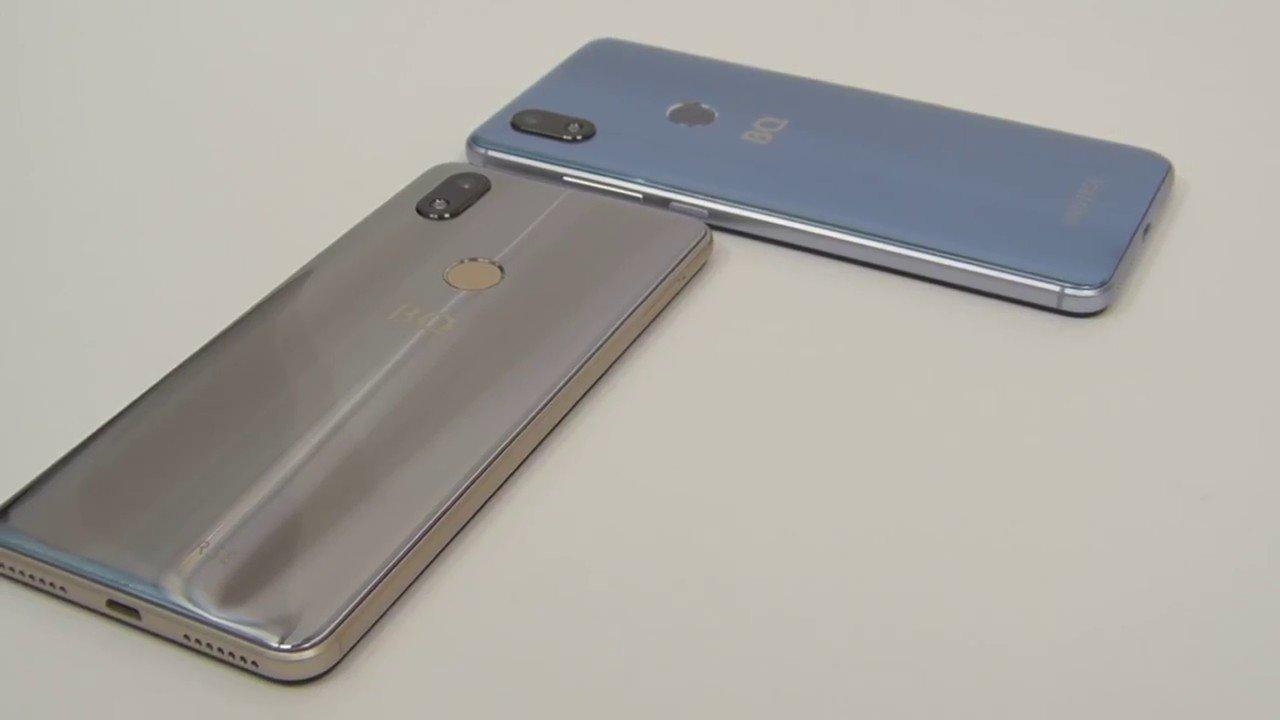 Смартфон укомплектован чипом NFC для бесконтактной оплаты