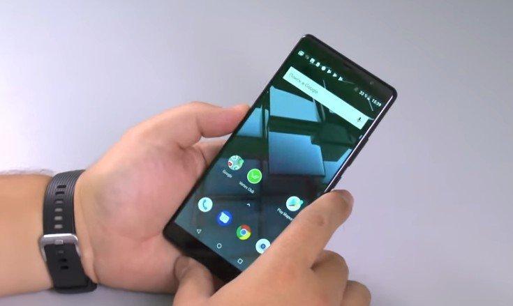 """""""Свежая"""" версия ОС Android"""