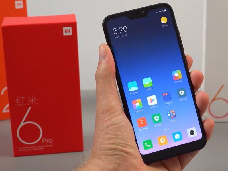 Реальный размерXiaomi Redmi Note 6 Pro