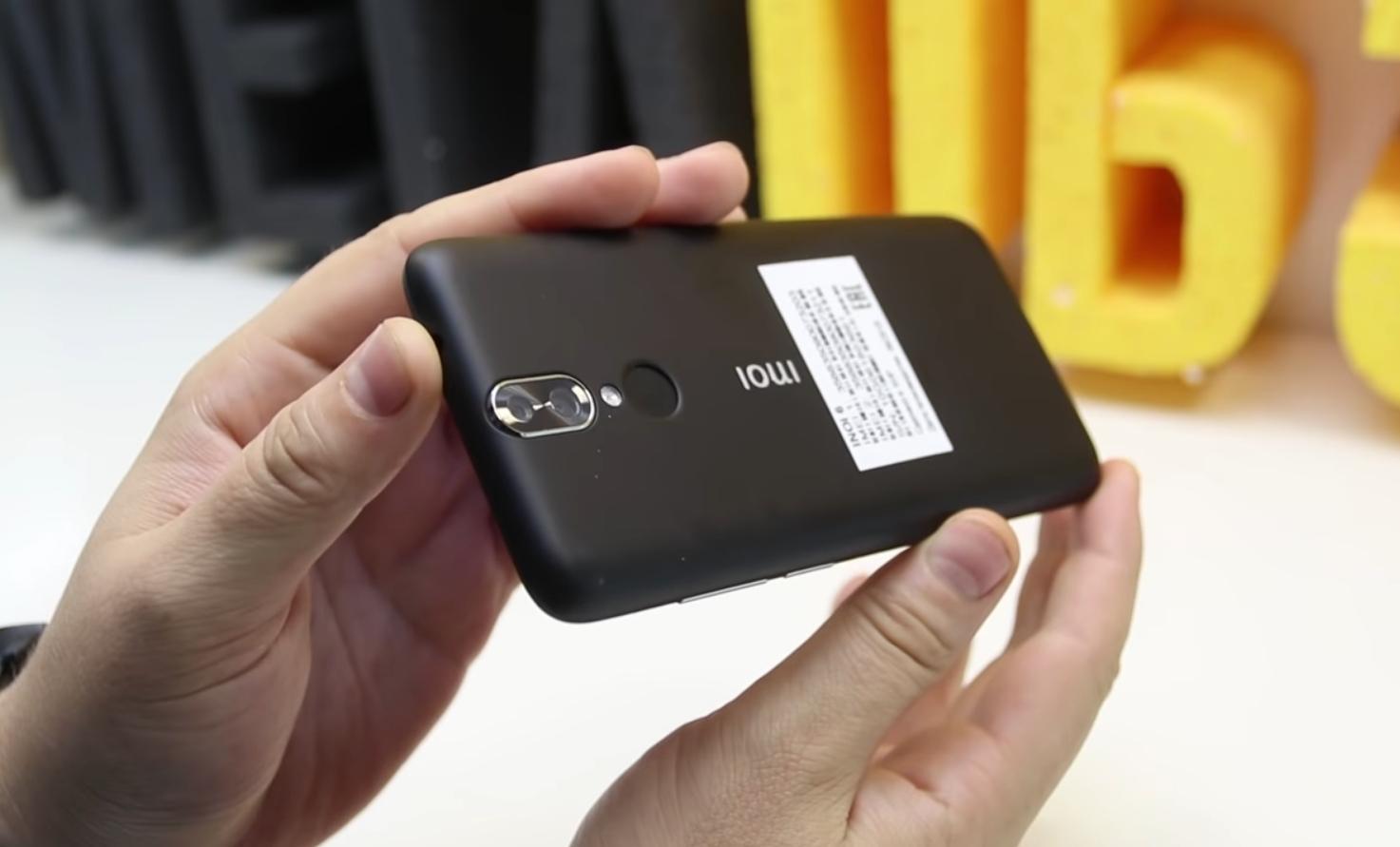 Тыльная камера с двойным сенсором на 8 и 0,3 Мп