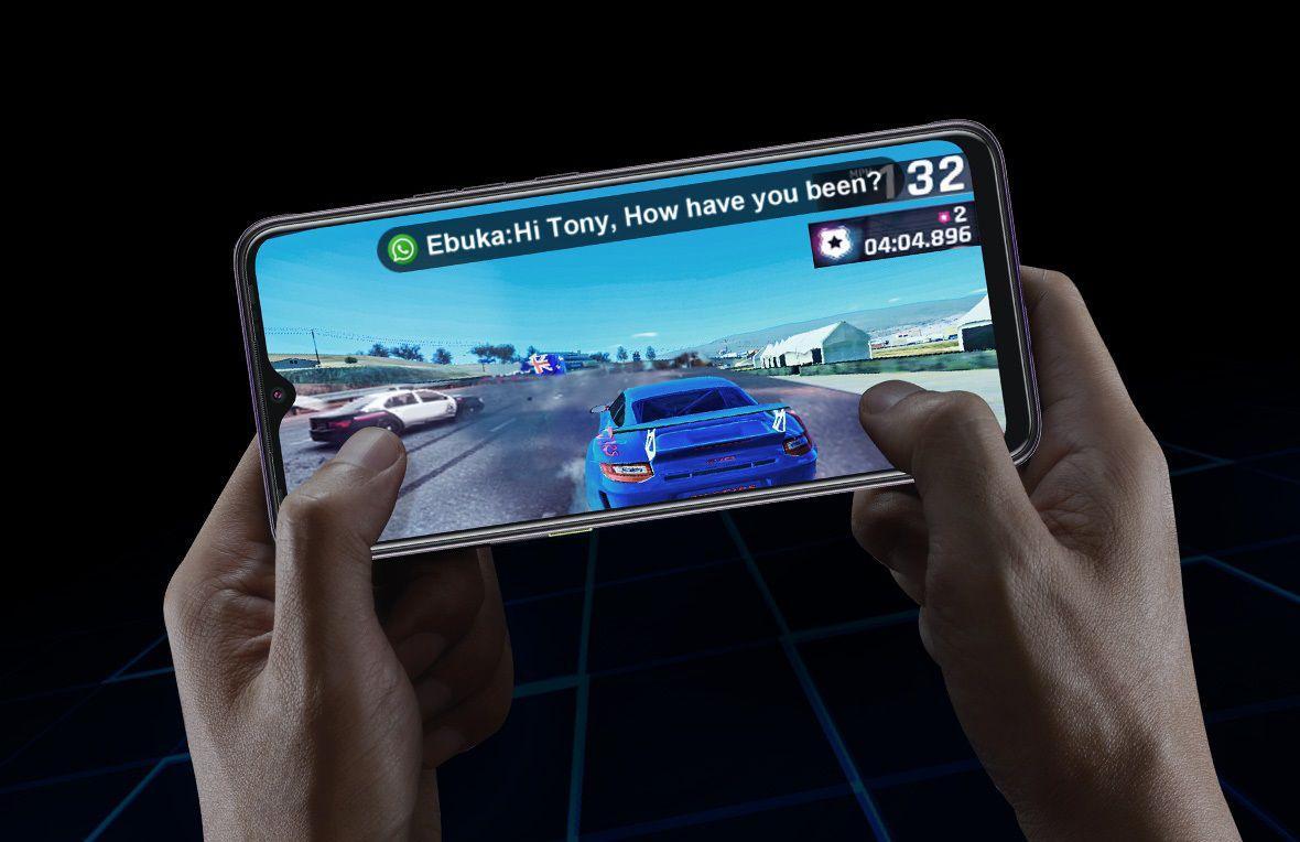 Смартфон подойдет для не самых современных игр