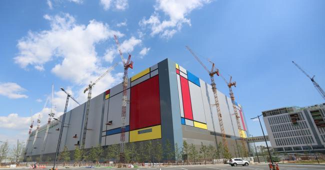 Новый завод Samsung