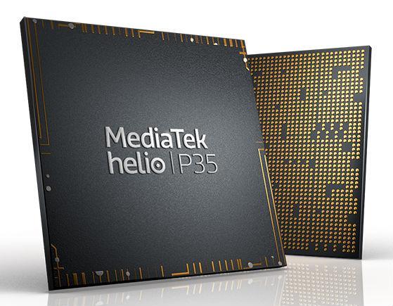 Не самый производительный процессор Helio P35