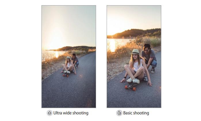 Разница между обычным и широкоформатным снимком