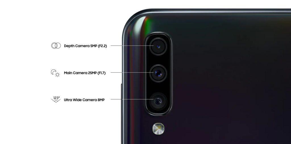 Тыльная камера А50