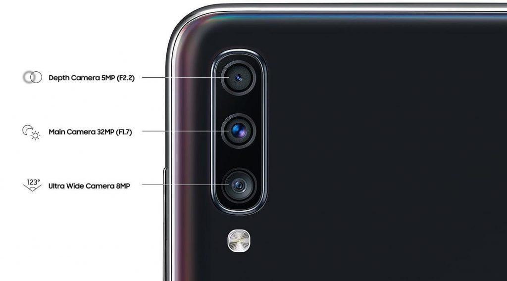 Тыльная камера А70