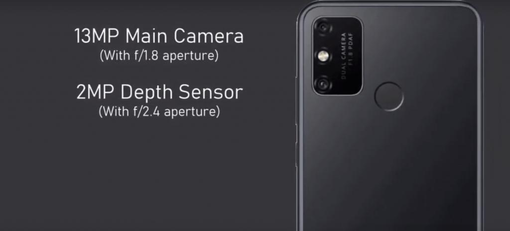 Двойная тыльная камера