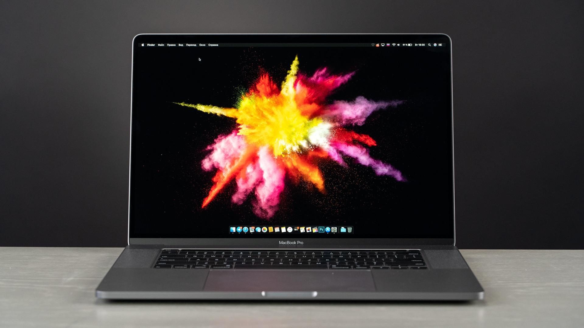 Apple MacBook Pro 16 with Retina display and Touch Bar Late 2019