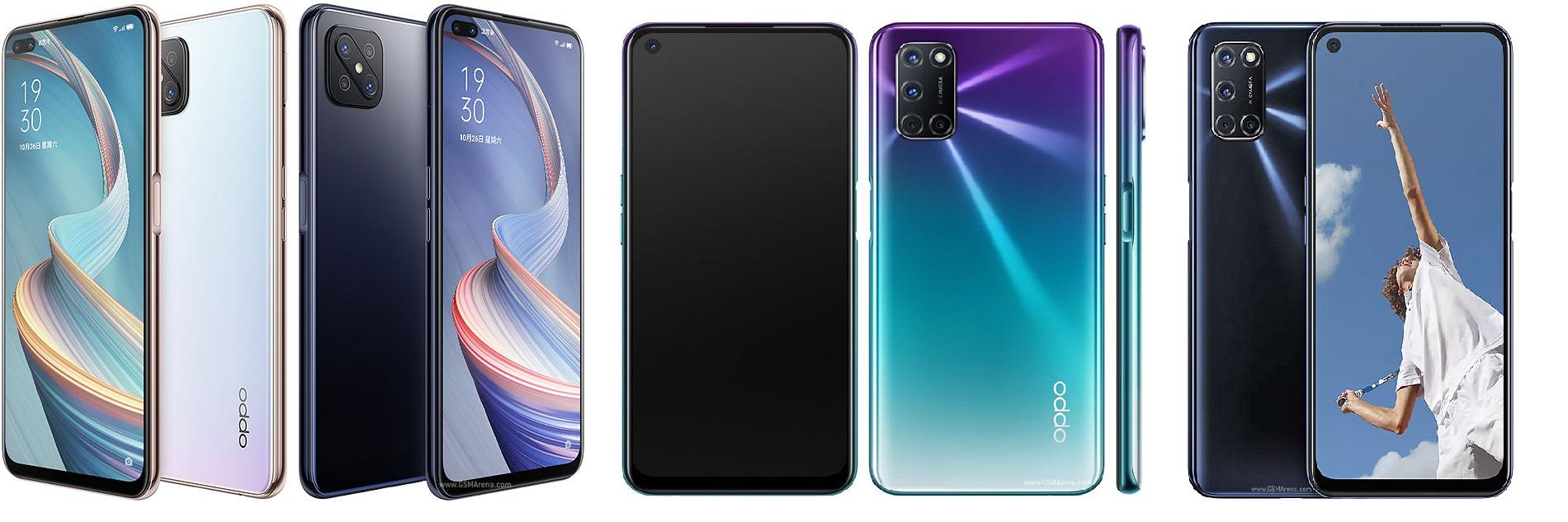 Oppo A92s, Oppo A72, Oppo A52