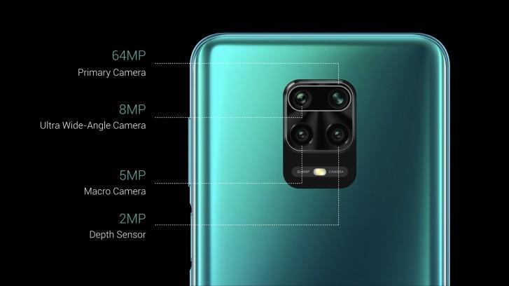 Тыльная камера четвертная с главным сенсором на 64 Мп
