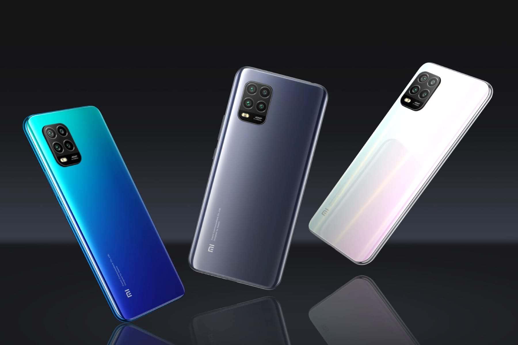 Задняя панель Xiaomi Mi 10 Youth