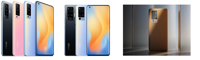 Слева направо: X50, X50 Pro, X50Pro+