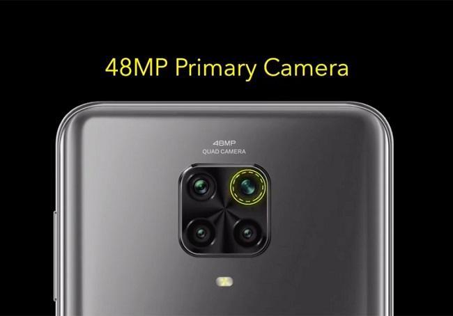 Четвертная тыльная камера